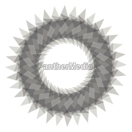 abstrakte spirograph konzentrische kreis muster auf