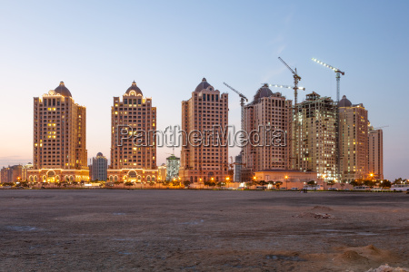 buildings at the pearl doha qatar