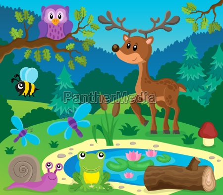 forest animals topic image 9