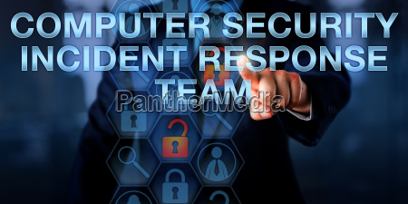 touching computer security incident response team