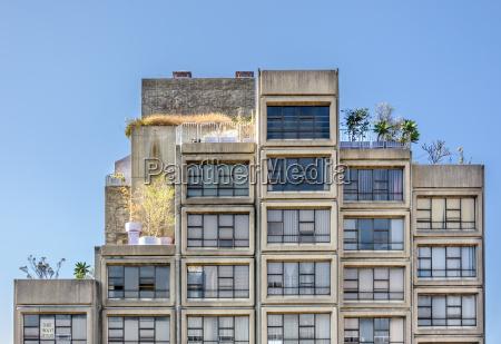 apartmenthaus in sydney australien fassade mit