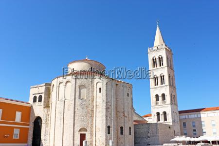 church of saint donat in zadar
