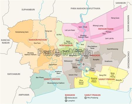 thailand bangkok region gebiet gegend landstrich