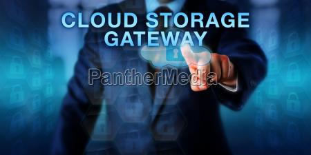 lieferant touching cloud storage gateway
