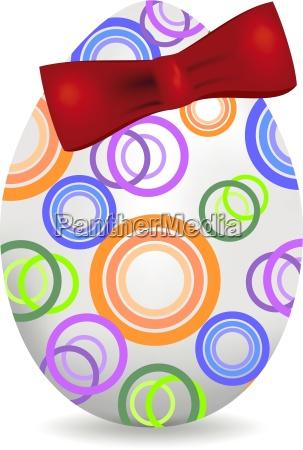 fröhlicher, osterhintergrund, mit, bunt, geschmückten, eiern - 16324381
