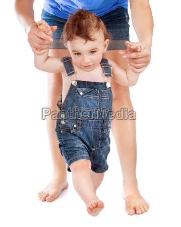 ersten babyschritte