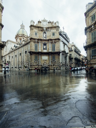 italy sicily palermo old town via