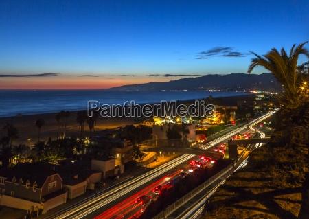 usa california pacific coast highway in