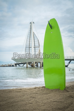 mexico jalisco puerto vallarta surf board