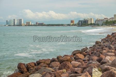 mexico jalisco puerto vallarta view from