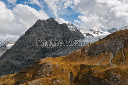 reschenpass alpen zwischen OEsterreich und