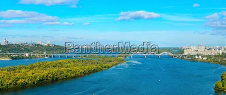 kiev panoramic view ukraine
