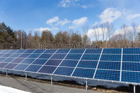 solar panel station