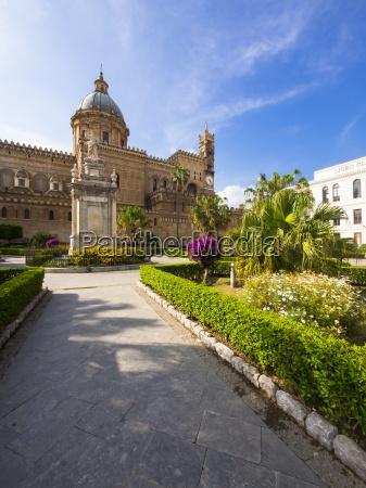 italy sicily palermo cathedral maria santissima