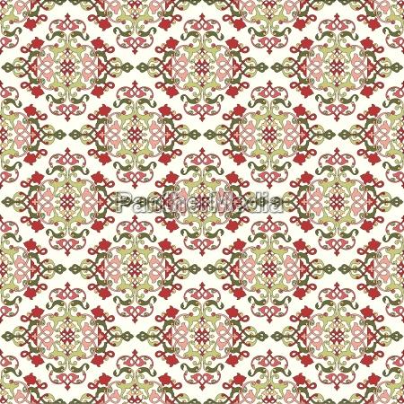 antike, ottomanische, türkische, mustervektordesign, vierundsiebzig - 16345519