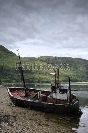 uk scotland isle of mull ship