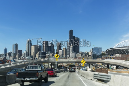 usa washington state seattle interstate 5
