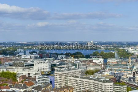 germany hamburg view from st michaels
