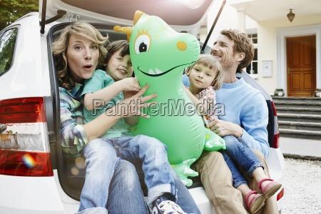 germany hesse frankfurt family sitting in