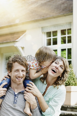 germany hesse frankfurt happy couple with