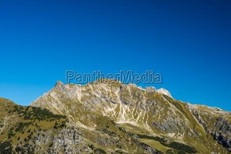 germany bavaria allgaeu alps nebelhorn