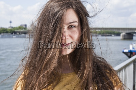 germany cologne portrait of smiling young