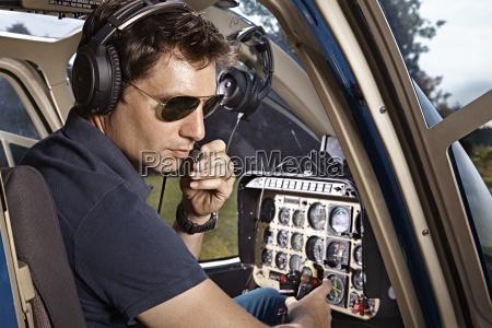 alemania baviera landshut piloto del helicoptero