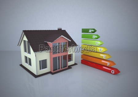 illustration energy pass and house