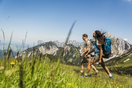 austria tyrol tannheimer tal young couple