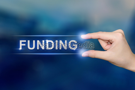 handklick finanzierungstaste