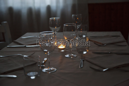 table of restaurant
