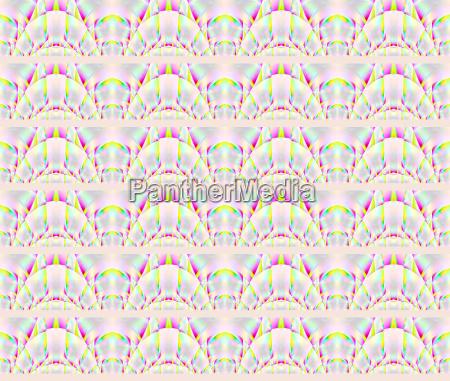 abstraktes geometrischer nahtloser hintergrund halbkreise schimmernd