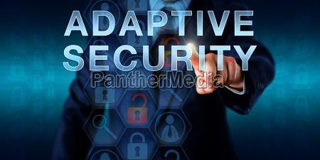 network supervisor touching adaptive security