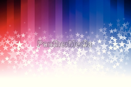 blue and red star background