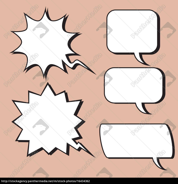comic-blase, retro-stil - 16434362