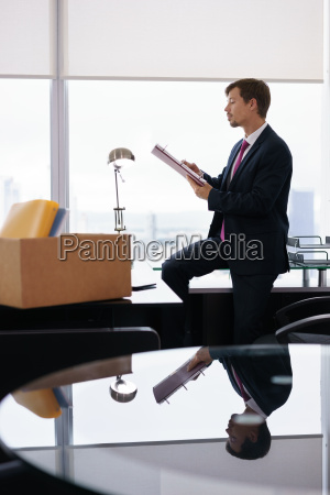 just hired corporate business man moves