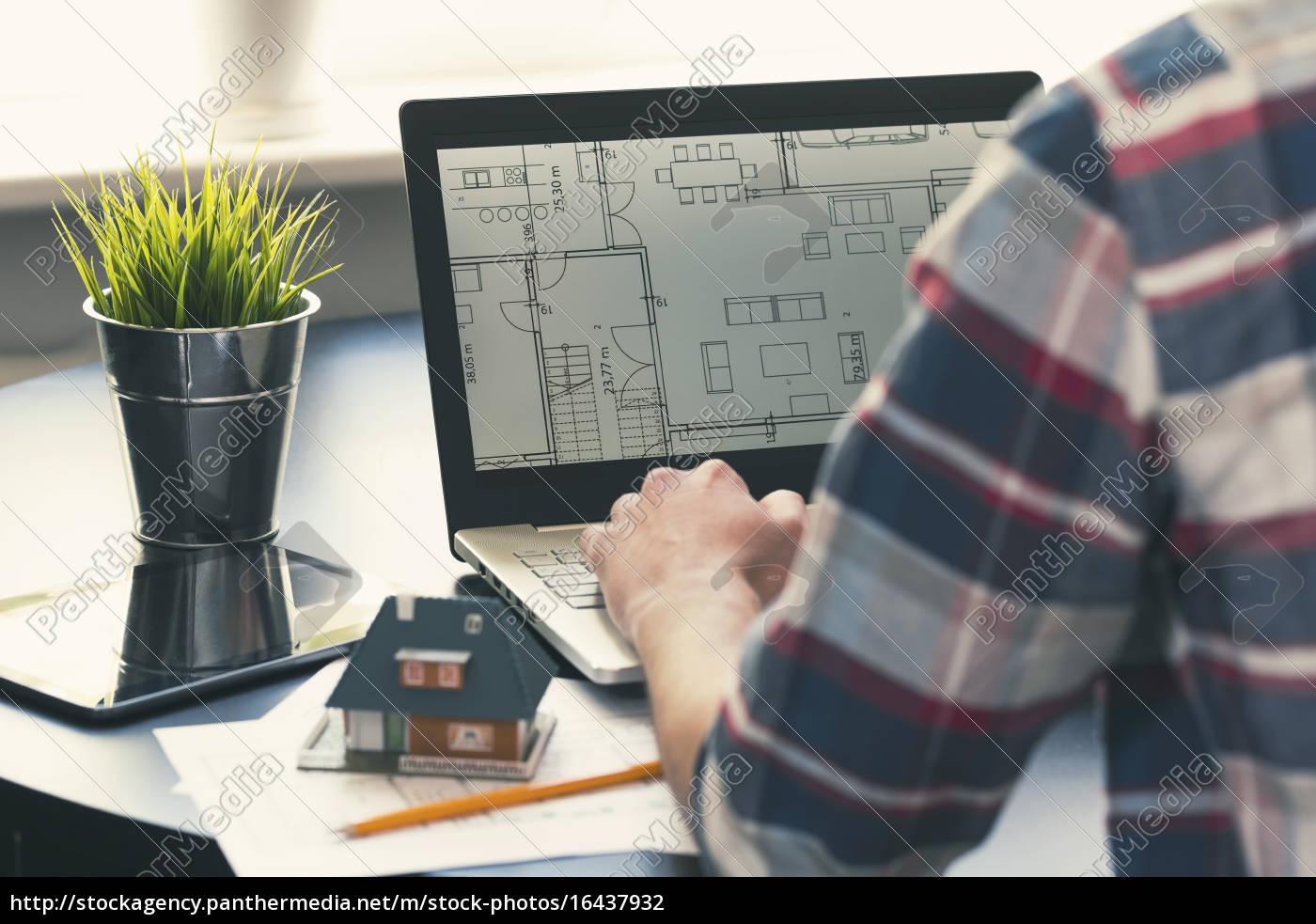 Lizenzfreies Foto 21   architekt innenarchitekt beruf