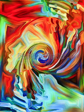 dance of fragmentation