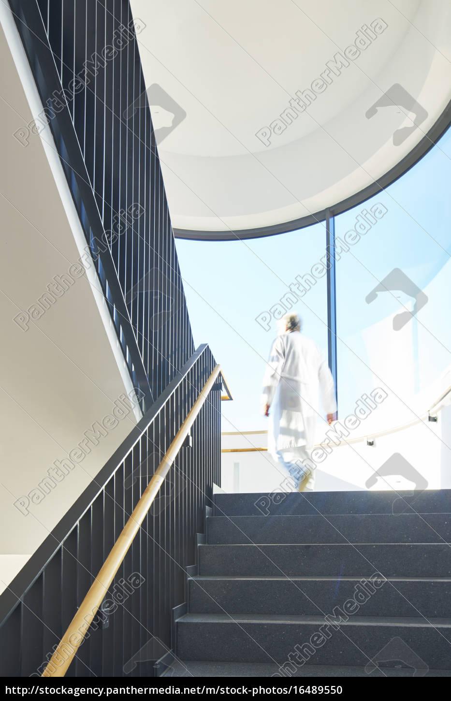 Treppenhaus Modern Klinik Arzt Stock Photo 16489550