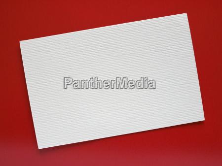 leeres papier tag etikett