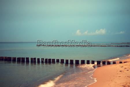 baltic sea twilight