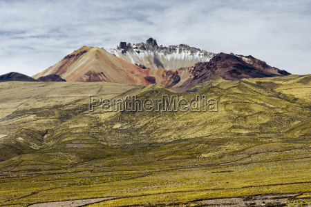 dormant volcano tunupa situated on a