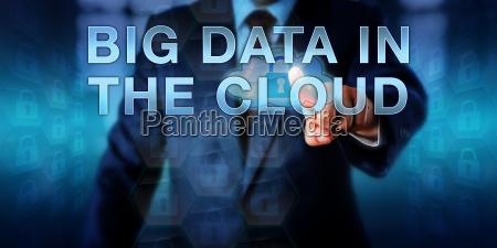enterprise manager pressing big data in