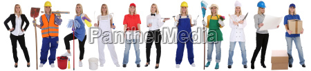 occupations vocational training business woman career