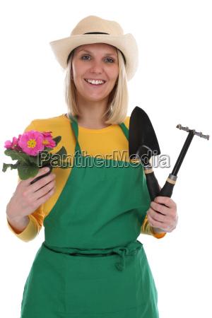 gaertnerin gaertner garten gartenarbeit frau beruf