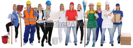 professional occupations education group woman career