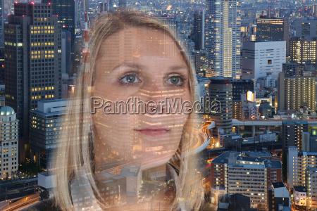geschaeftsfrau business frau portrait hoffnung zuversicht