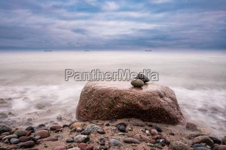 steine an der ostseekueste