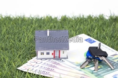key house and money