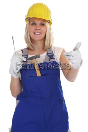handwerker frau handwerkerin beruf arbeiter handwerk